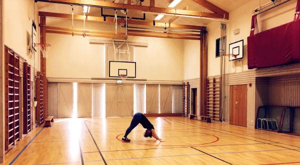 Aktivitetshusets gympasal