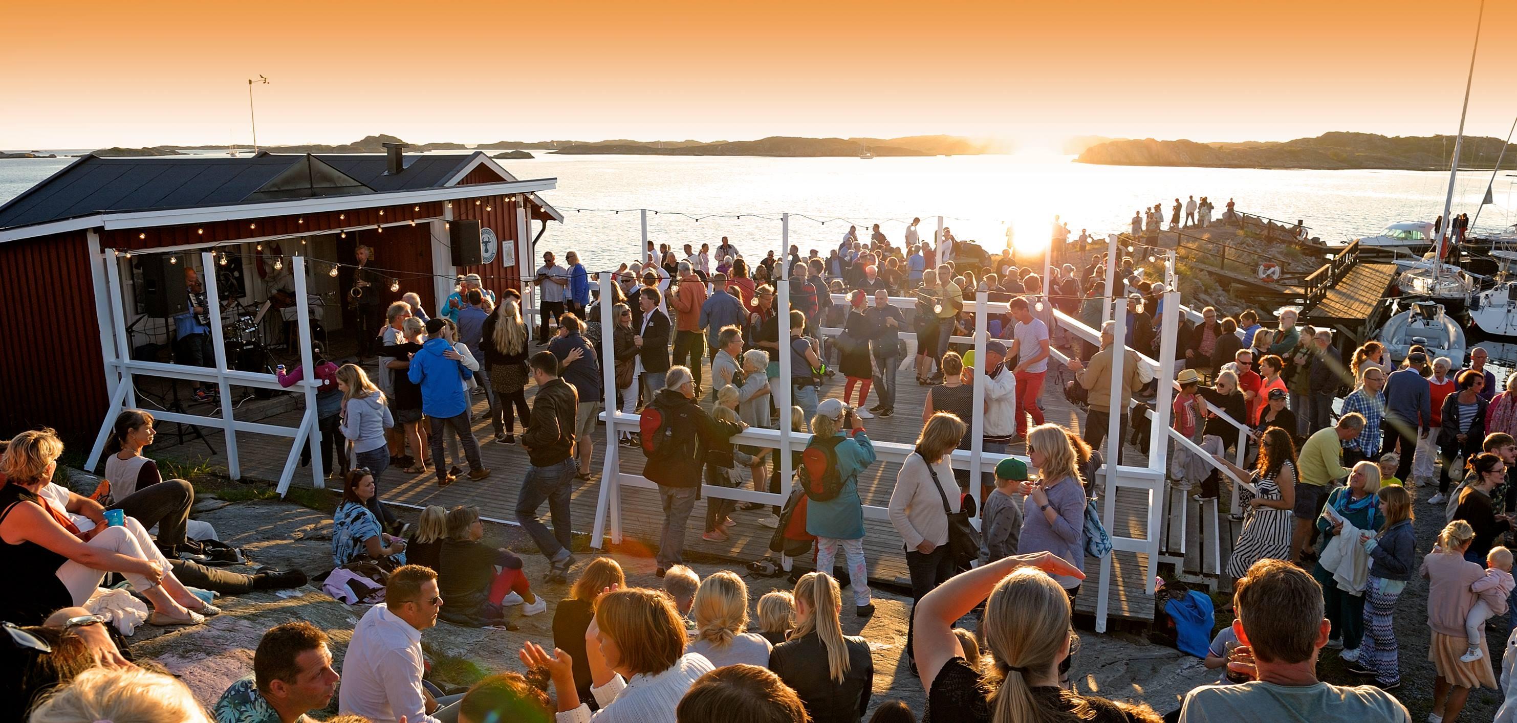Dans på Brännö Brygga - Spelschema