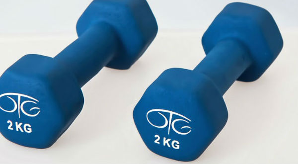 2-kilos tyngder