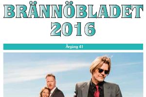 Brännöbladets framsida sommar 2016