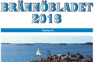 Brännöbladets framsida sommar 2018